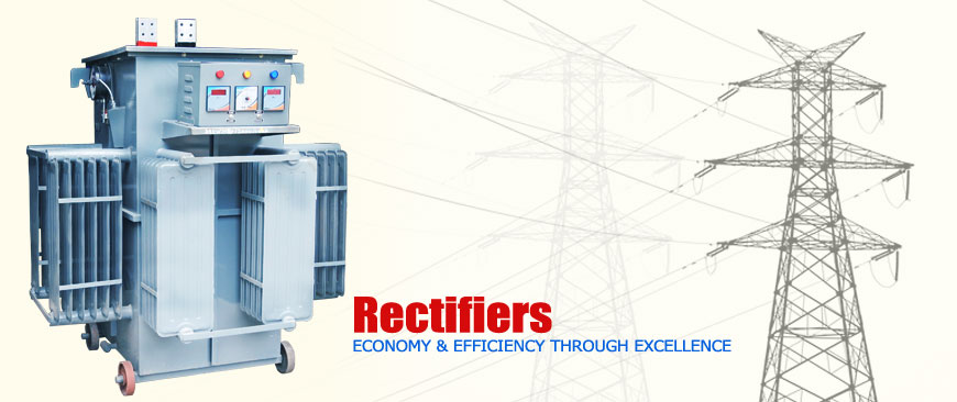 Step down and step up transformer, Electroplating rectifiers